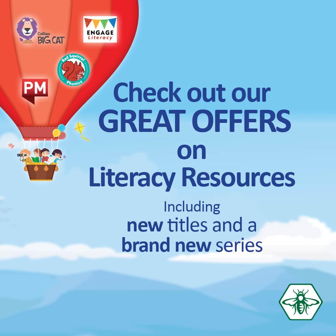 Folens Literacy Offers Sept - Nov 2021