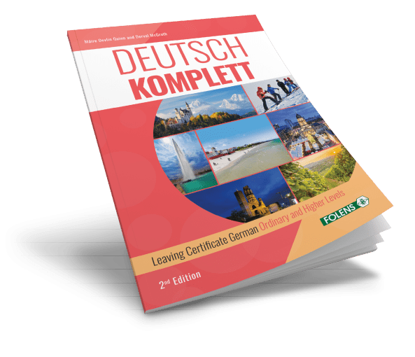 Deutsch Komplett leaving cert German school book from Folens