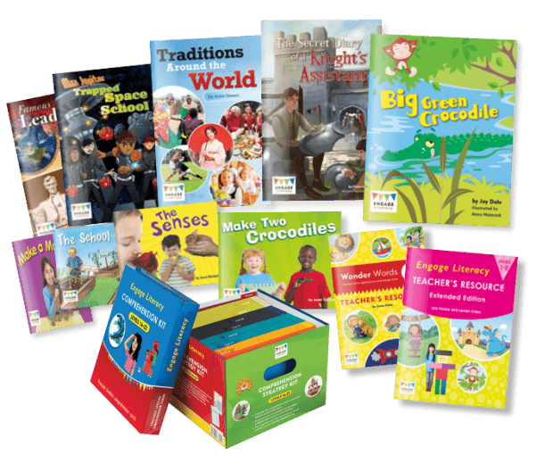 Engage Literacy Product Range from Folens Literacy