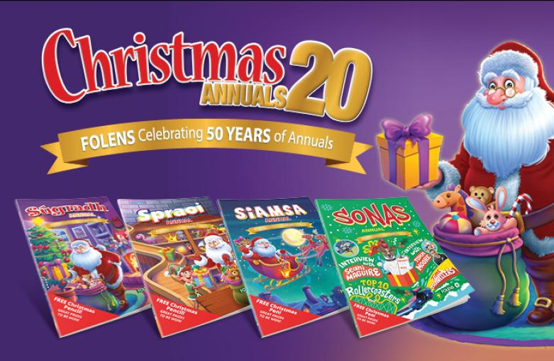 Folens Christmas Annuals 2020 on sale now