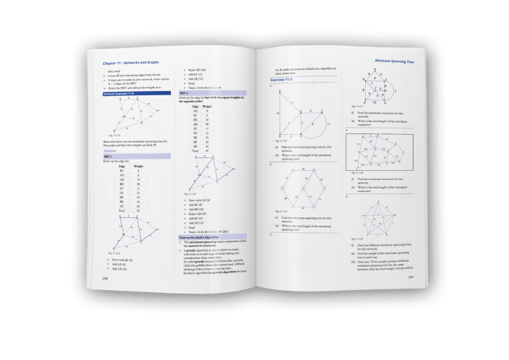 Fundamental Applied Maths 3rd Edition page spread