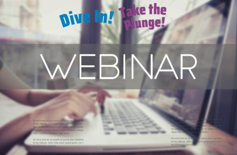 Dive In! and Take the Plunge! webinar image