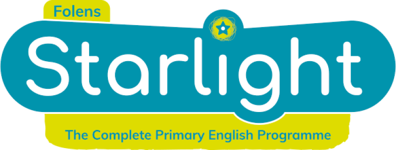 Starlight, Folens primary English for junior infants, senior infants, 1st class, 2nd class, 3rd class, 4th class, 5th class, 6th class.