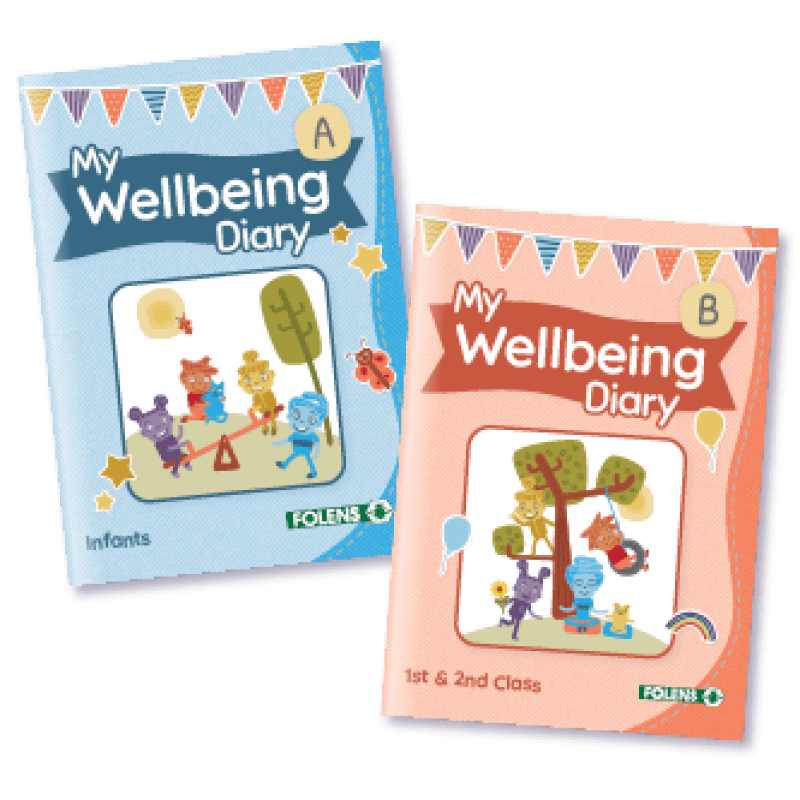 Folens My Wellbeing Diary for Primary Wellbeing